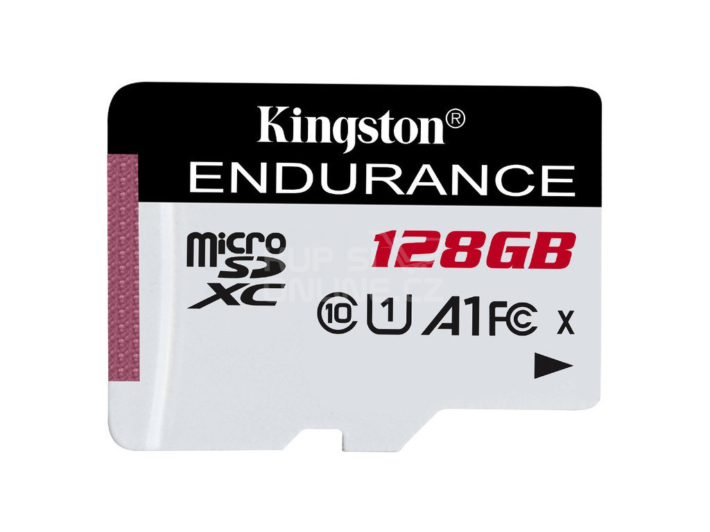 128GB microSDXC Kingston Endurance CL10 A1 95R/45W bez adapteru, SDCE/128GB