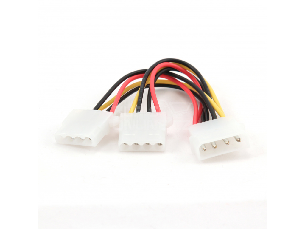 Napájecí kabel 5.25'' -> 2x5.25'', CC-PSU-1