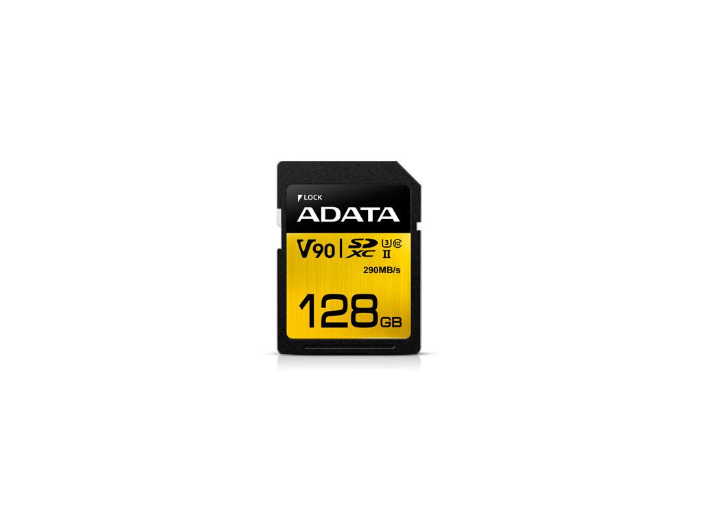 ADATA SDXC 128GB UHS-II U3 (290/260MB), ASDX128GUII3CL10-C