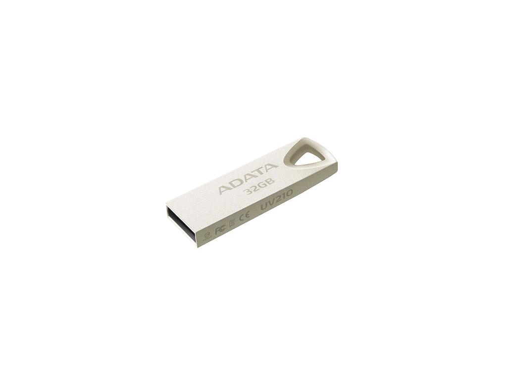 32GB ADATA UV210 USB Flash 2.0 kovová, AUV210-32G-RGD