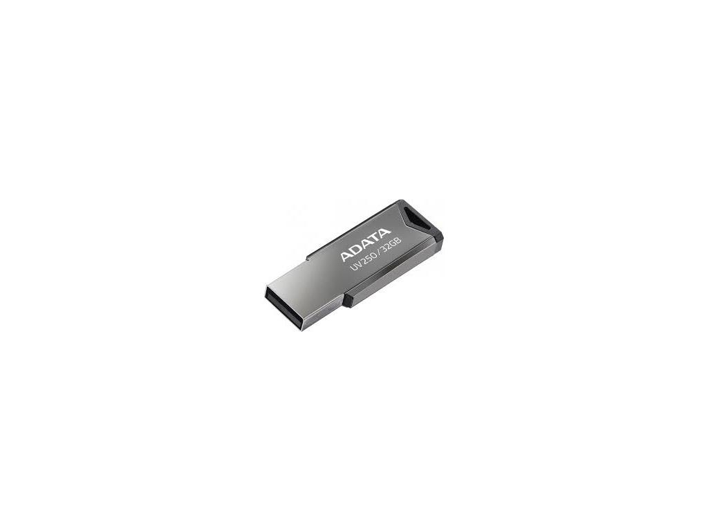32GB ADATA UV250 USB 2.0 kovová, AUV250-32G-RBK