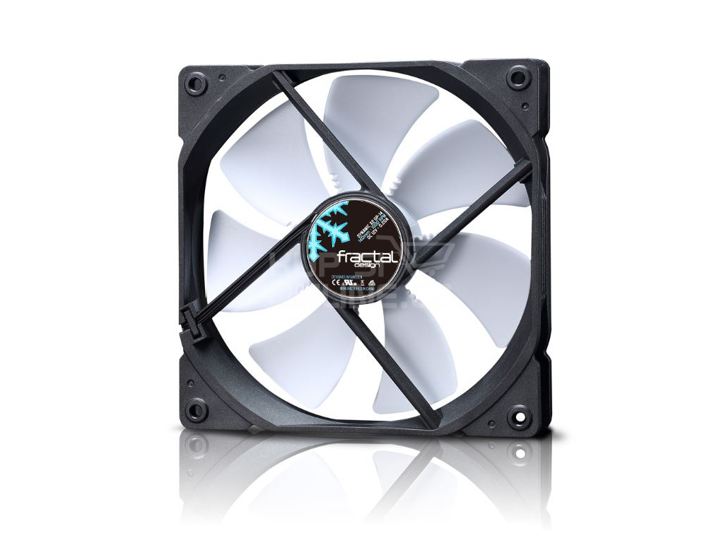 Fractal Design 120mm Dynamic X2 GP bílá PWM, FD-FAN-DYN-X2-GP12-PWM-WT