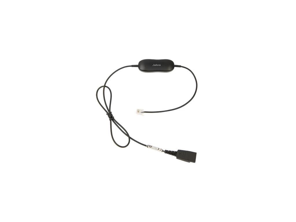 Jabra Smart Cord, QD-RJ9, straight, 88001-03