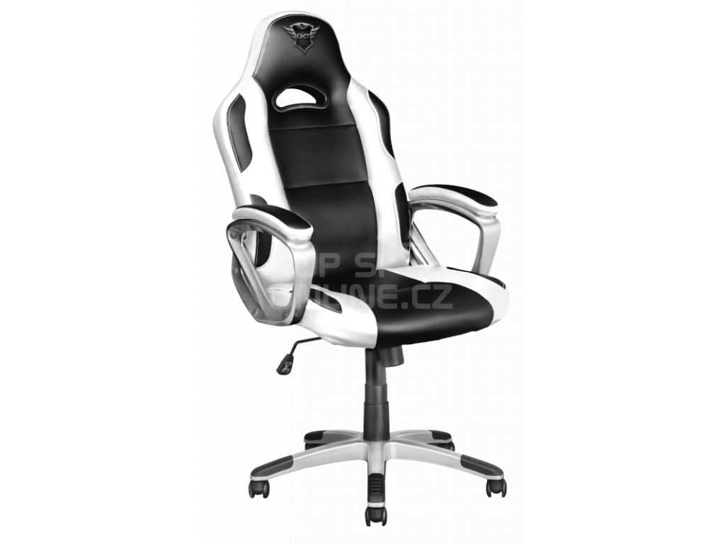TRUST GXT 705W Ryon Gaming chair - white, 23205