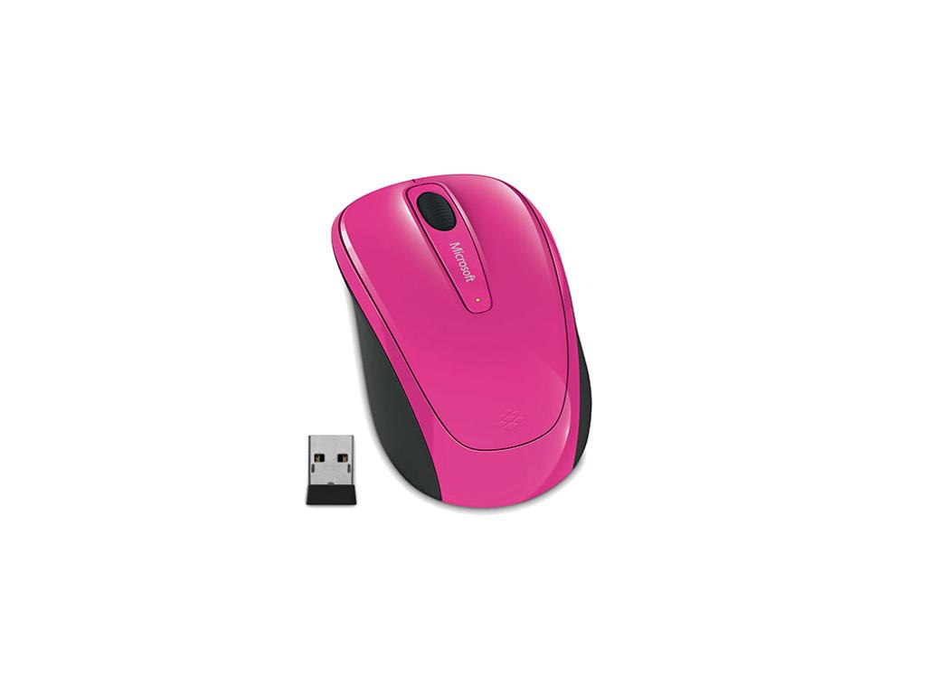 Microsoft Wireless Mobile Mouse 3500, růžová, GMF-00277