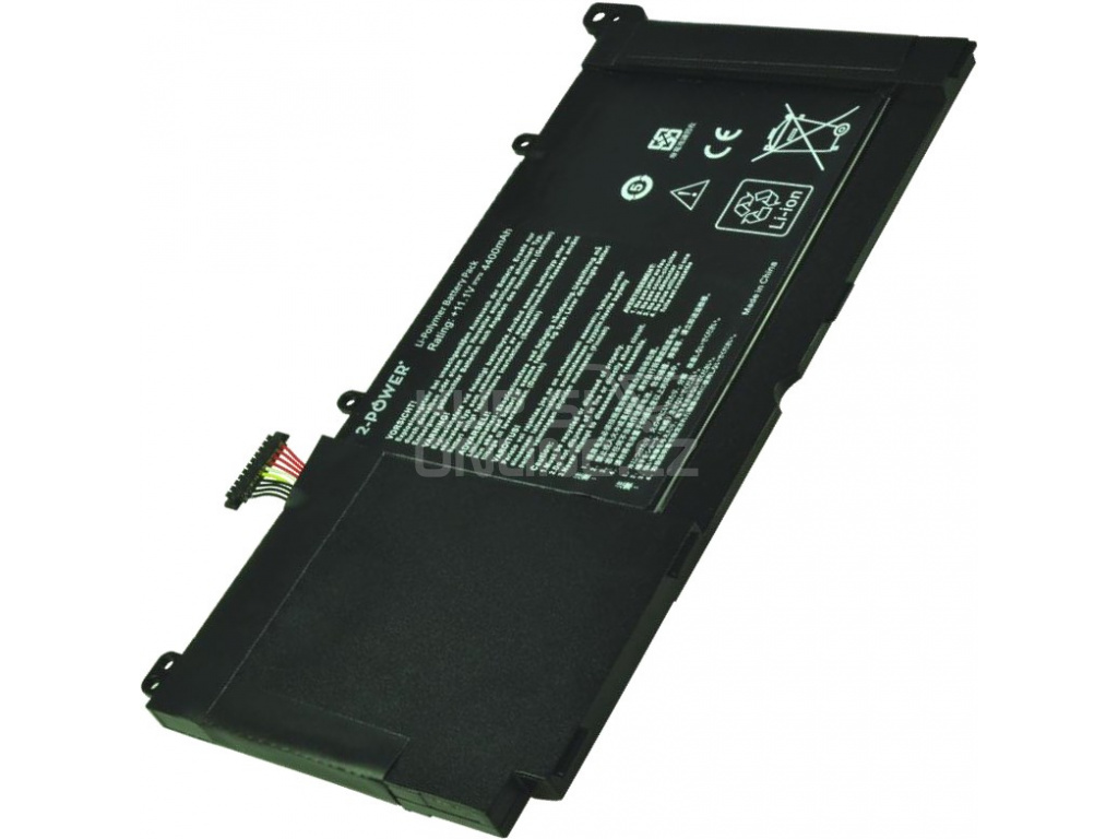 2-POWER Baterie 11,1V 4400mAh pro Asus K551LA, K551LB, K551LN, R551LA, S551LA, S551LB, S551LN, 77051116