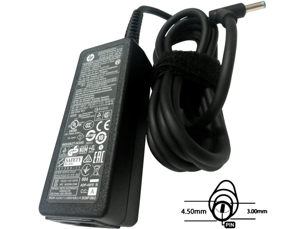 Napájecí adaptér 45W, 19,5V 4.5x3.0mm, originál HP, 77011108