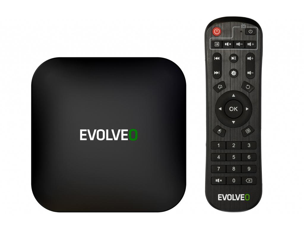 EVOLVEO MultiMedia Box C4, 8K Ultra HD multimediální centrum, MMBX-C4