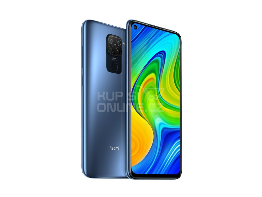 Xiaomi Redmi Note 9 3GB/64GB šedá, 27990