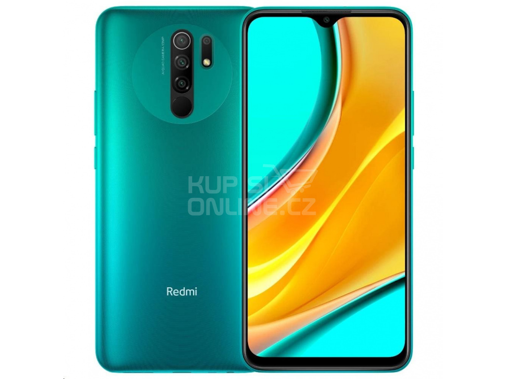 Xiaomi Redmi 9, 3GB/32GB, Ocean Green, 28424