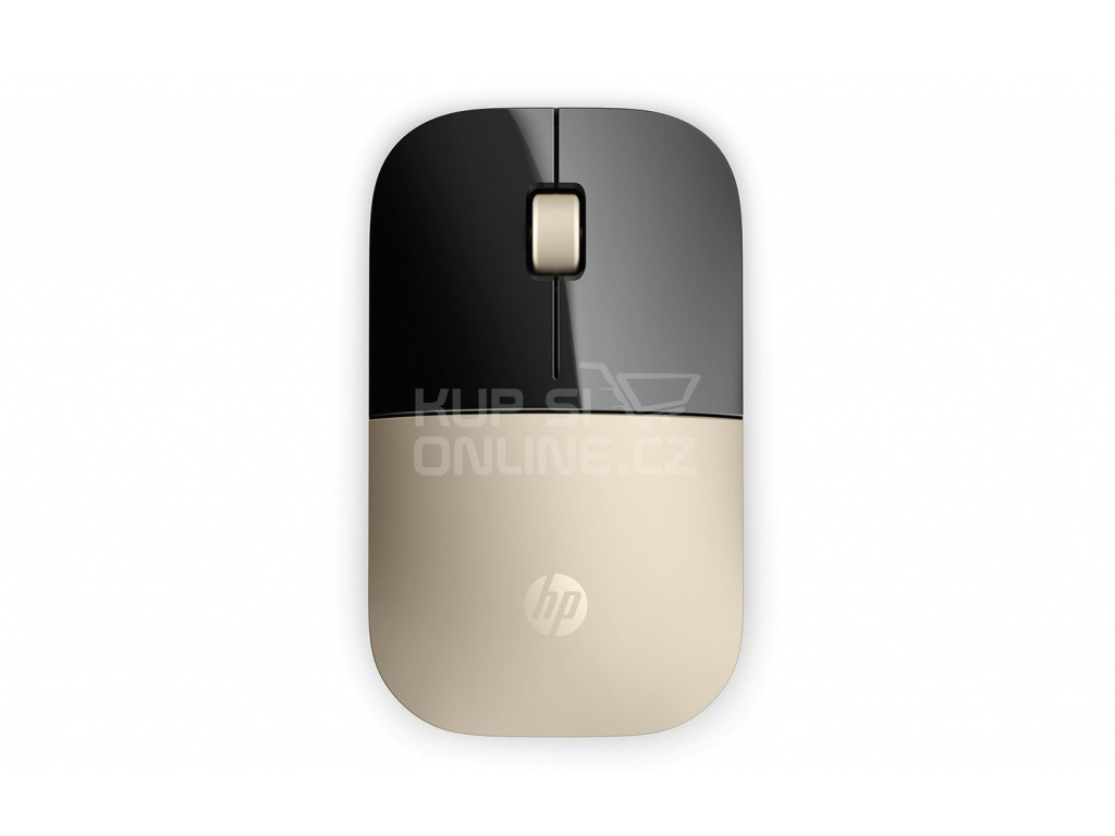 HP Z3700 Wireless Mouse - Gold - MOUSE, X7Q43AA#ABB