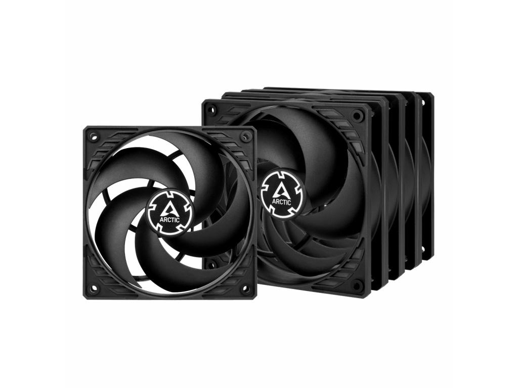 ARCTIC P12 PWM PST Value Pack (black/black), ACFAN00137A