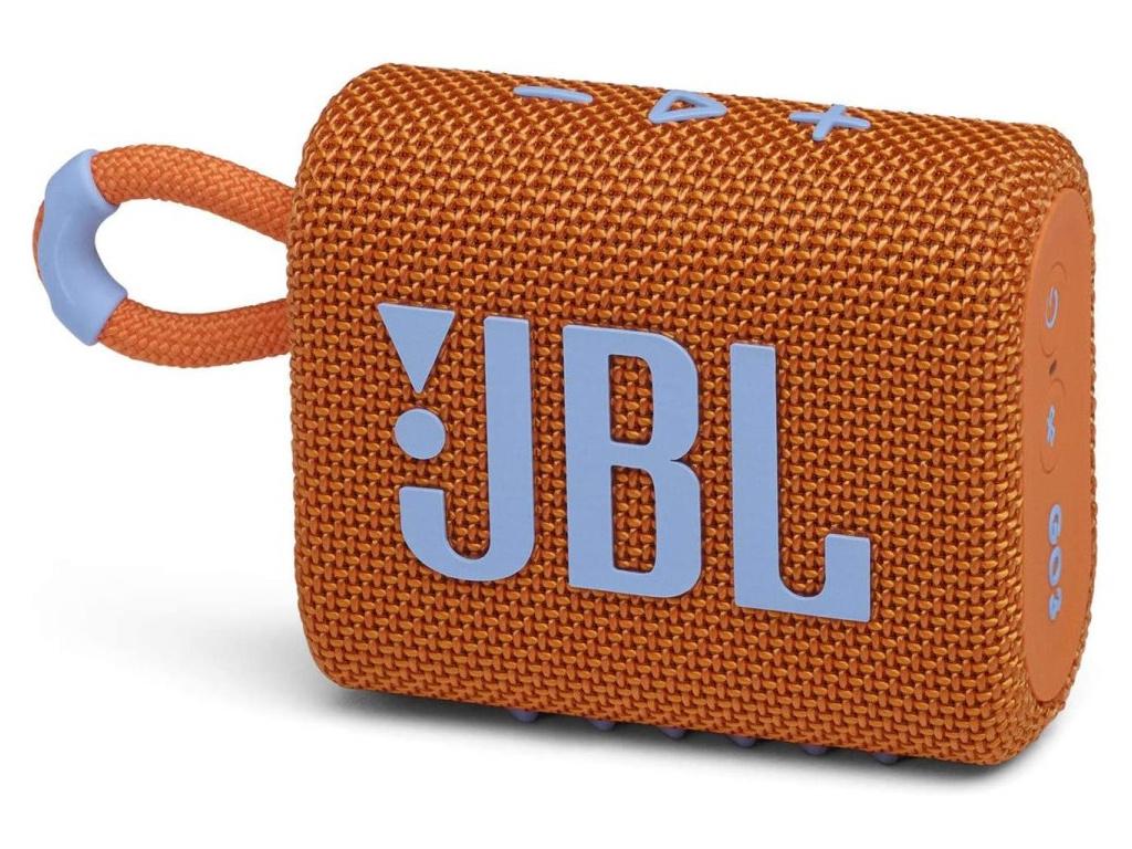 JBL GO 3/ BT/ 4,2W/ IP67/ Výdrž až 5 hodin/ Oranžový, JBLGO3ORG