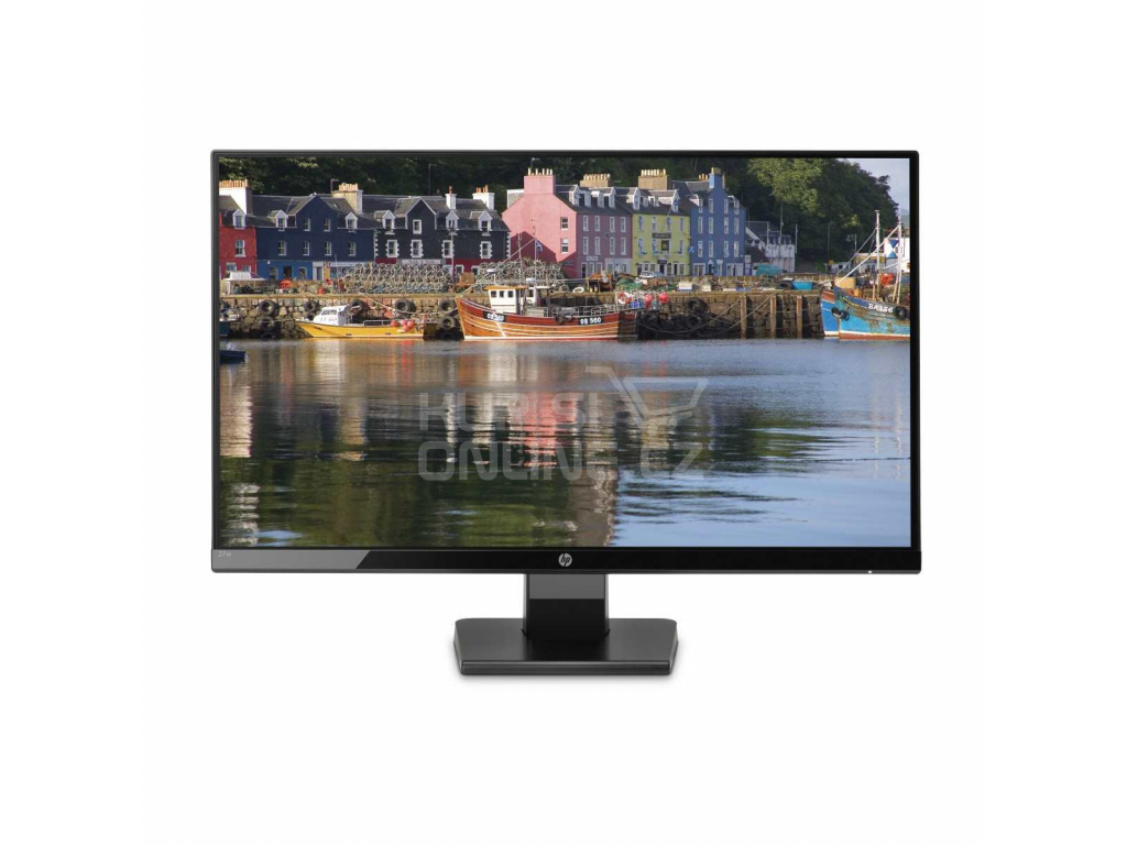 """LCD HP IPS Monitor 27w LED backlight AG; 27"""" matný, 1920x1080, 10M:1, 250cd, 5ms,VGA,HDMI,black, 1JJ98AA#ABB"""