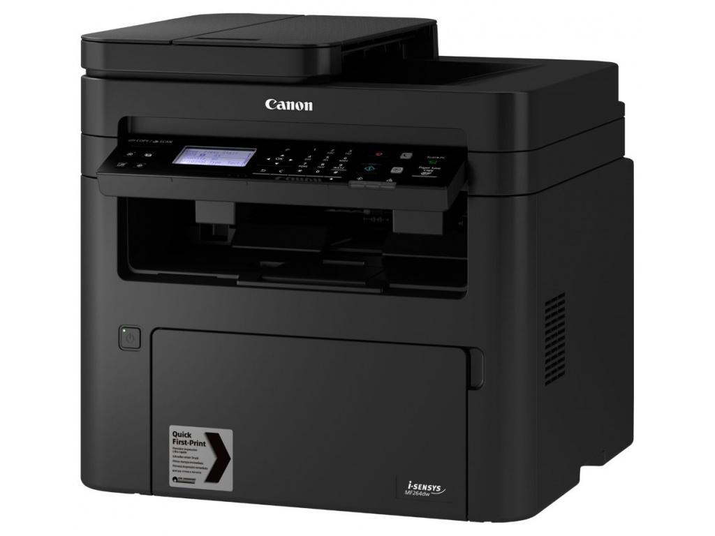 CANON i-SENSYS MF264DW / A4 / čb/ PSC/ 1200x1200dpi/ 28ppm/ USB/ LAN/ WiFi/ WiFi Direct/ Duplex/ ADF/ PCL/ černá, 2925C016
