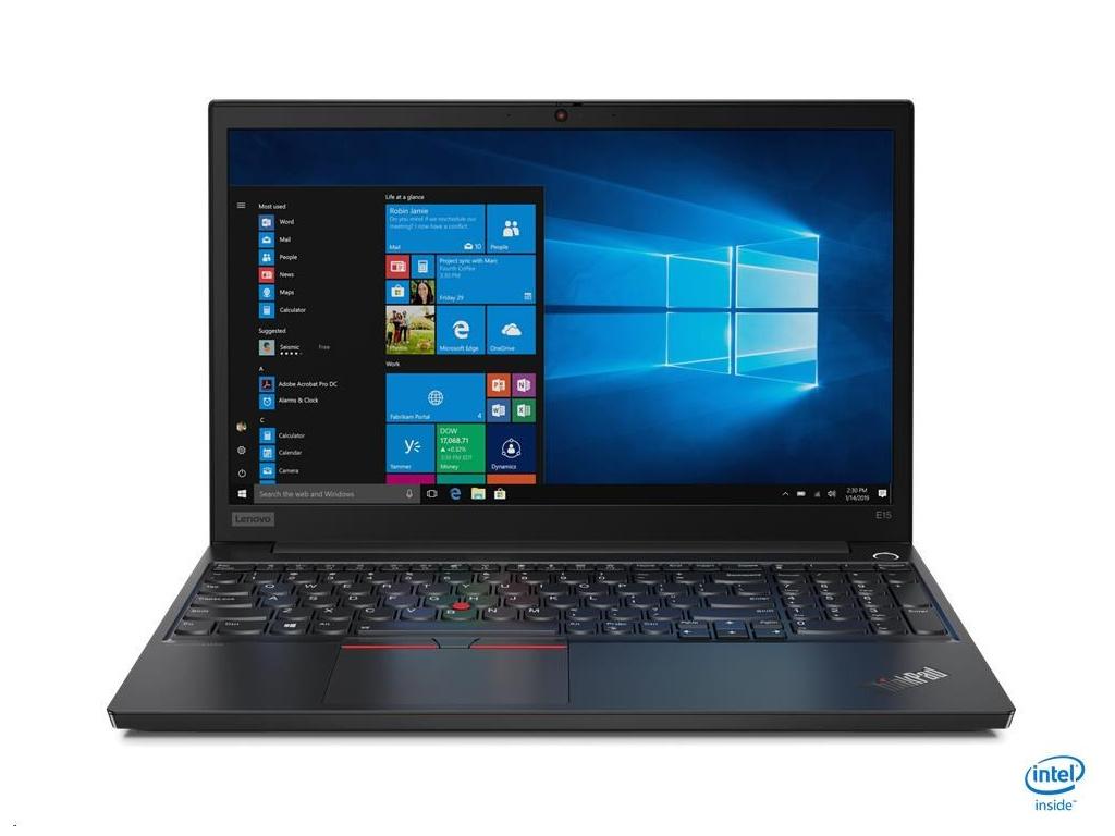"LENOVO TP E15-IML - i3-10110U 2.1GHz,15.6"" FHD IPS mat,8GB,256SSD,Intel UHD, W10P, 20RD001EMC"