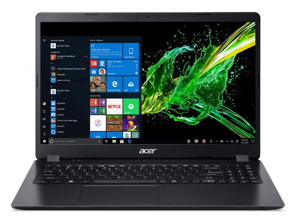 Acer Aspire 3 - 15,6''/R5-3500U/8G/256SSD/W10 černý, NX.HF9EC.004  + Batoh ACER a bezdrátová myš ZDARMA