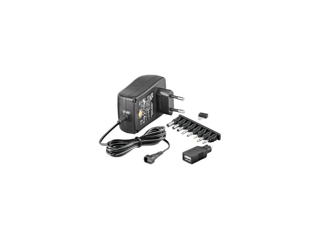Univerzální napájecí adaptér 230V/3-12V, ppadapter-01