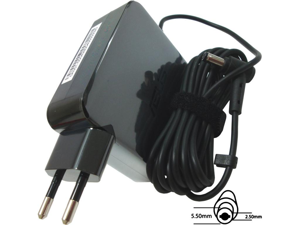 Asus orig. adaptér 65W19V 2P W/O CORE s EU plugem, B0A001-00042800