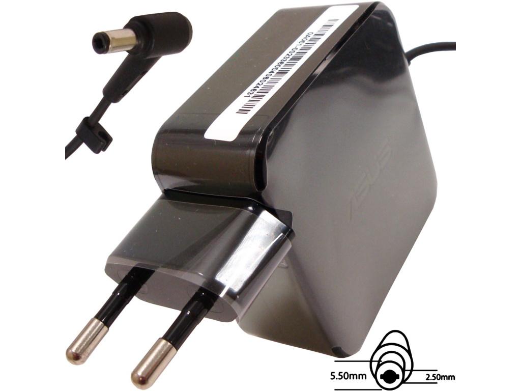 Asus orig. adaptér 45W19V 2P BLK s EU plugem, B0A001-00231400