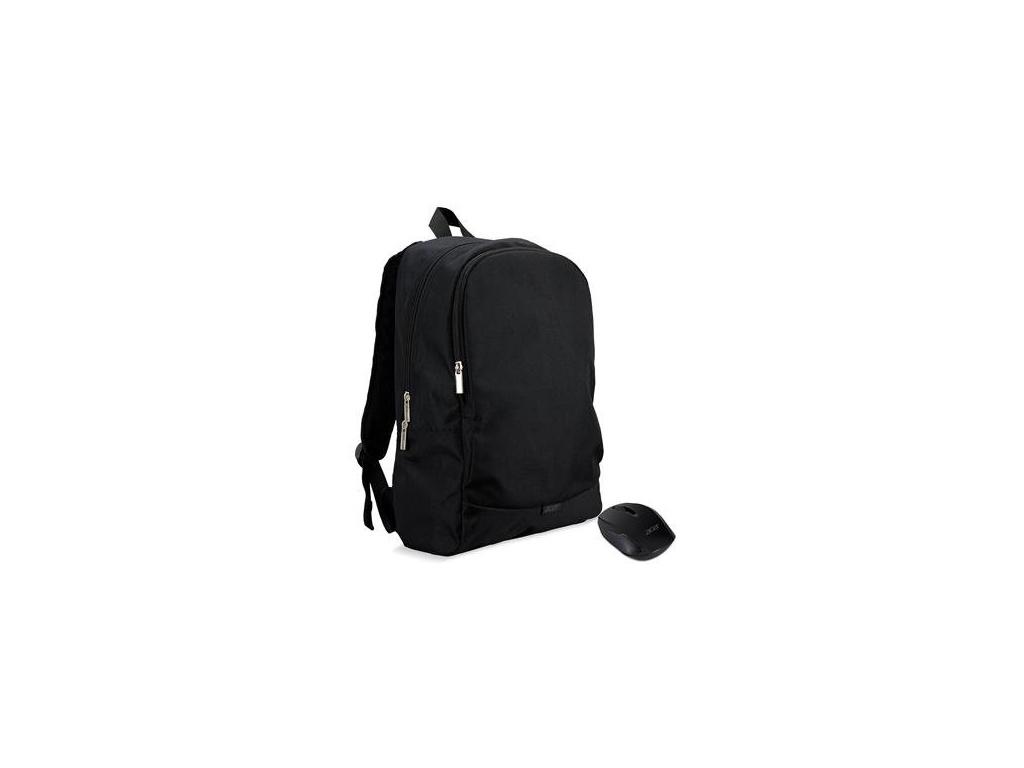 Acer STARTER KIT batoh 15,6'' černý + bezdrátová myš, NP.ACC11.029