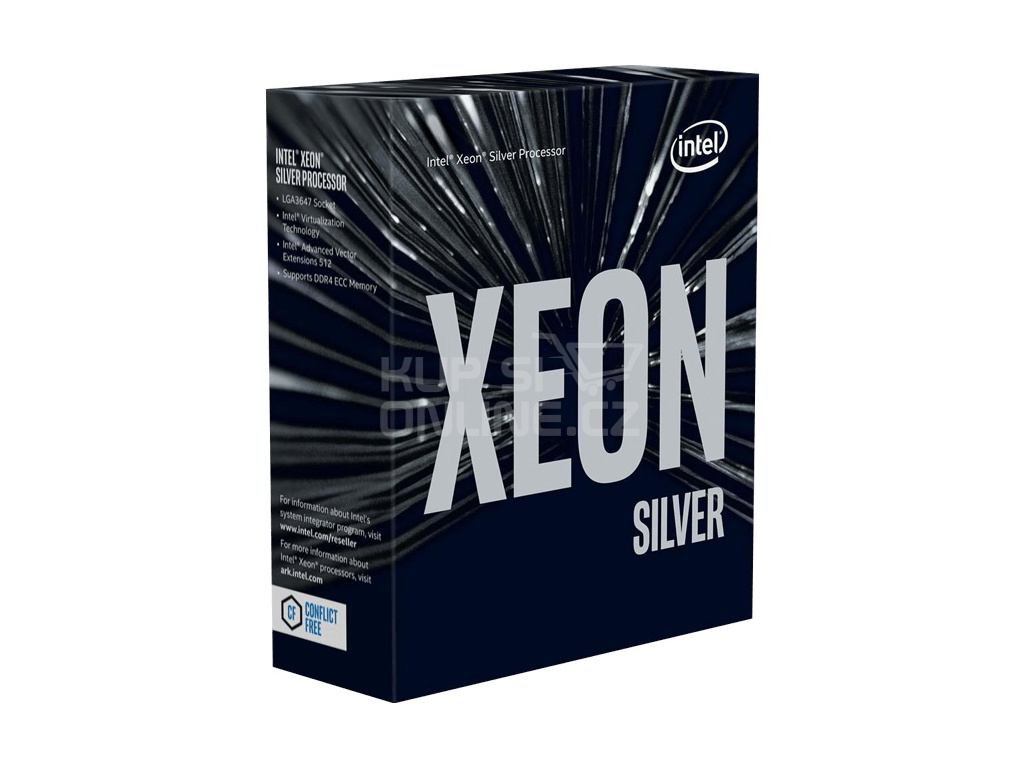CPU Intel Xeon 4210 (2.2GHz, FC-LGA3647, 13.75M), BX806954210