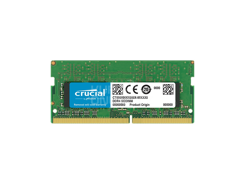 SO-DIMM 8GB DDR4 2400MHz Crucial CL17, CT8G4SFS824A