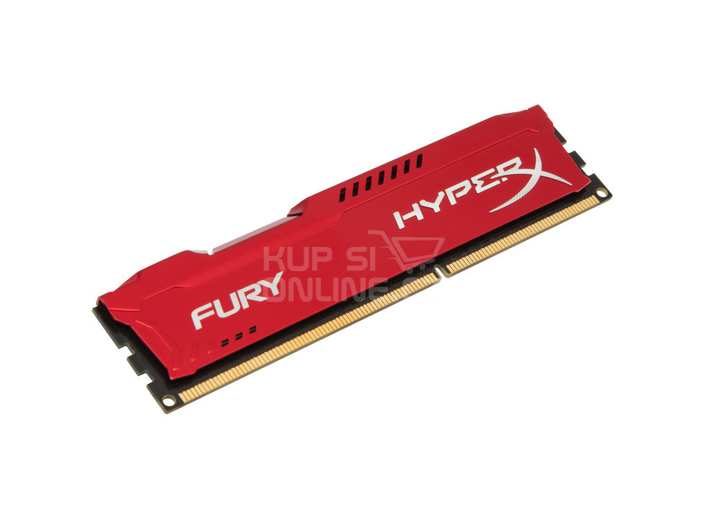 4GB DDR3-1600MHz Kingston HyperX Fury Red, HX316C10FR/4