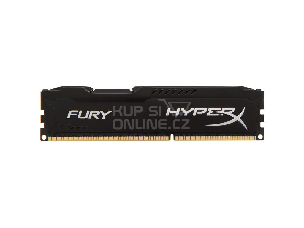 8GB DDR3-1600MHz Kingston HyperX Fury Black, HX316C10FB/8