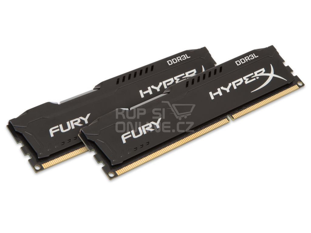 16GB DDR3L-1866MHz Kingston HyperX Fury Bl., 2x8GB, HX318LC11FBK2/16