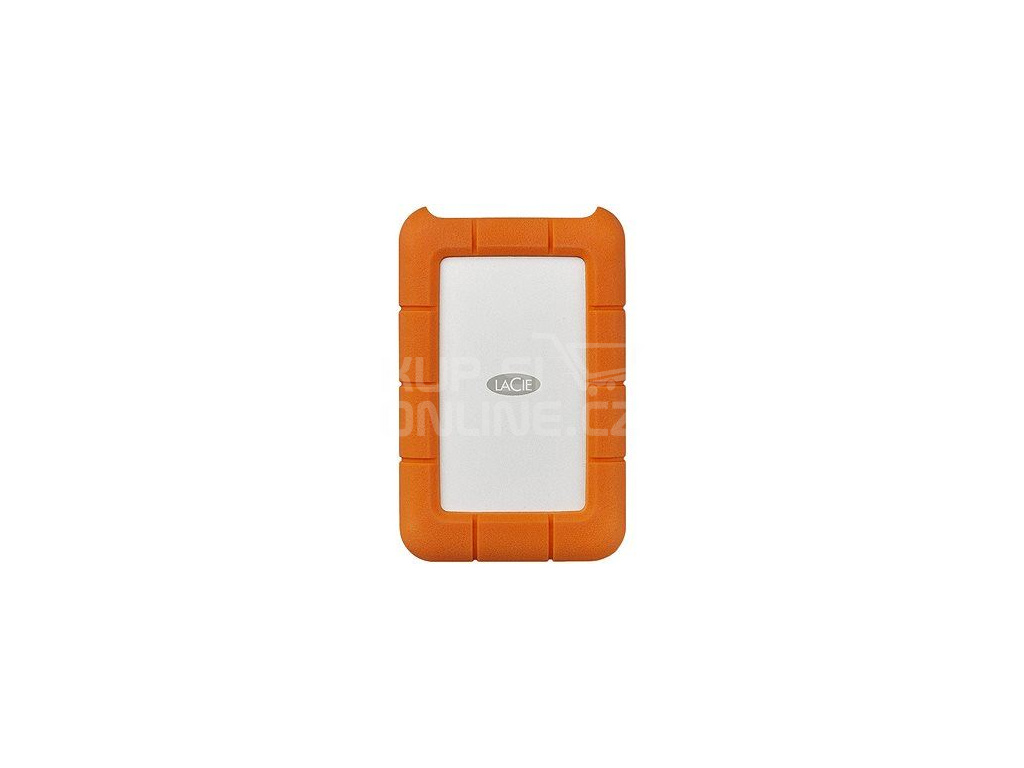 Ext. HDD LaCie Rugged Secure USB-C 2TB + Rescue, STFR2000403