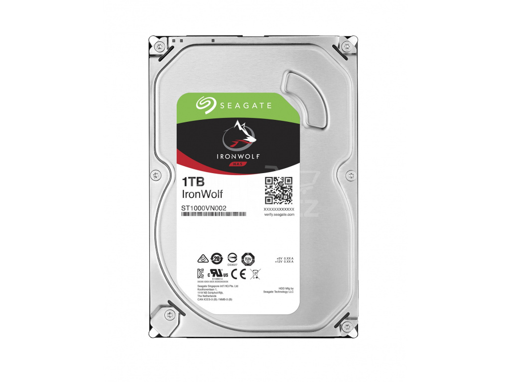 HDD 1TB Seagate IronWolf 64MB SATAIII 5900rpm NAS, ST1000VN002