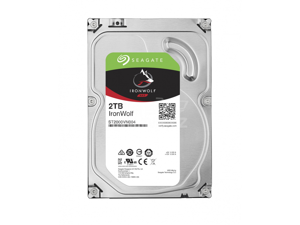 HDD 2TB Seagate IronWolf 64MB SATAIII 5900rpm NAS, ST2000VN004