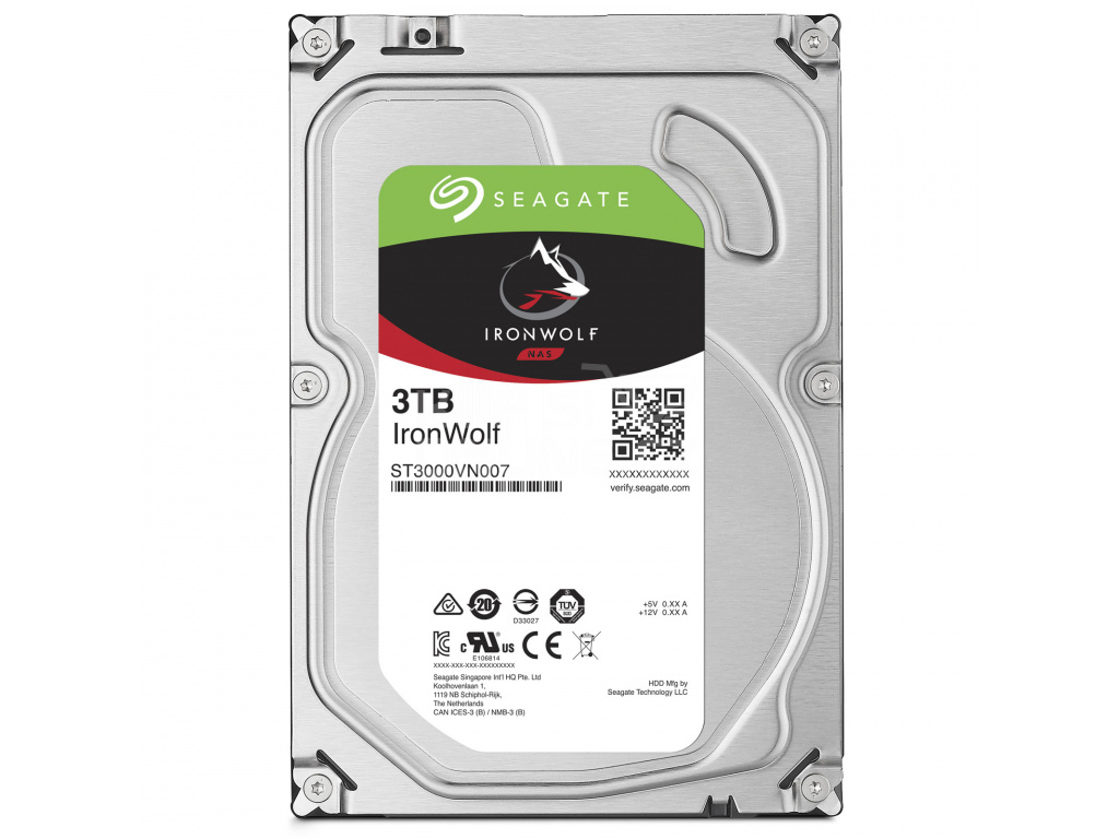 HDD 3TB Seagate IronWolf 64MB SATAIII 5900rpm NAS, ST3000VN007