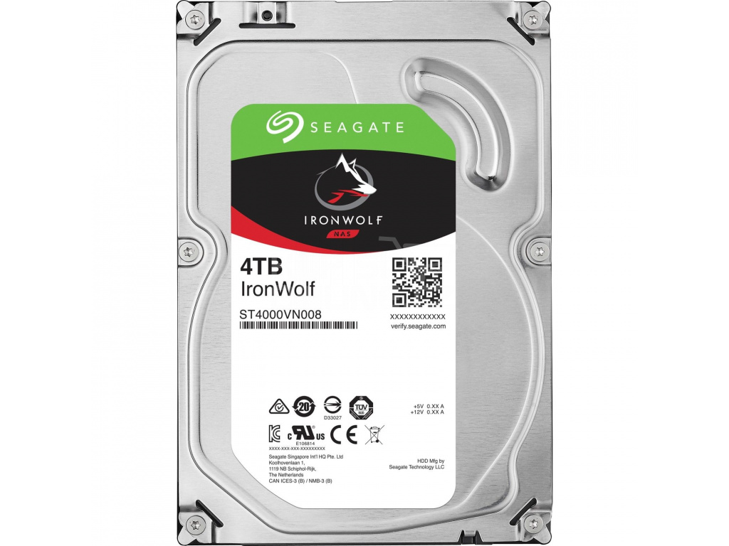 HDD 4TB Seagate IronWolf 64MB SATAIII 5900rpm NAS, ST4000VN008