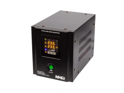 Záložní zdroj MHPower MPU300-12,UPS,300W, čistá sinus, MPU-300-12