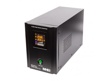 Záložní zdroj MHPower MPU700-12,UPS,700W, čistá sinus, MPU-700-12