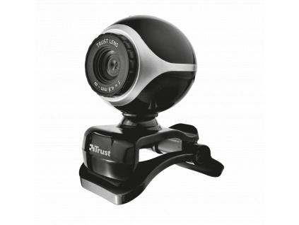 webkamera TRUST Exis Webcam - Black/Silver