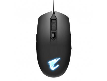 Myš GIGABYTE Aorus M2 USB 6200dpi, GM-AORUS M2