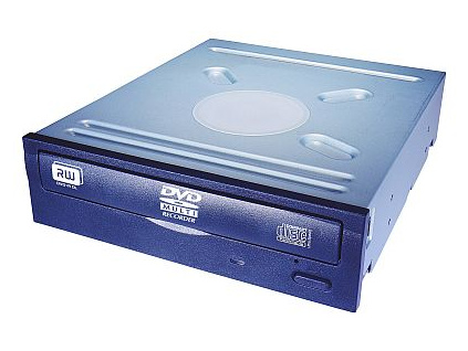 DVDRW/RAM Lite-On iHAS124 24x SATA černá bulk, iHAS124-14