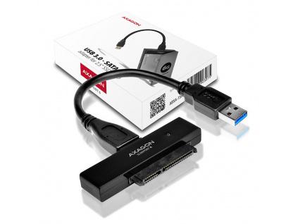 AXAGON ADSA-1S6, USB3.0 - SATA 6G UASP HDD/SSD adaptér vč. 2.5'' pouzdra