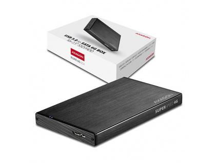AXAGON EE25-XA6, USB3.0 - SATA 6G, 2.5'' externí ALINE box, EE25-XA6