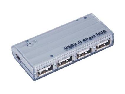 PremiumCord USB 2.0 HUB 4-portový V2.0, bez napáj., ku2hub4wm