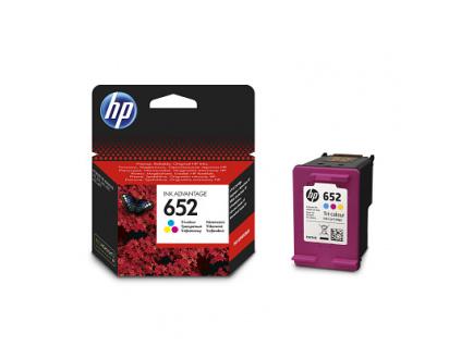 HP 652 3barevná ink kazeta, F6V24AE, F6V24AE