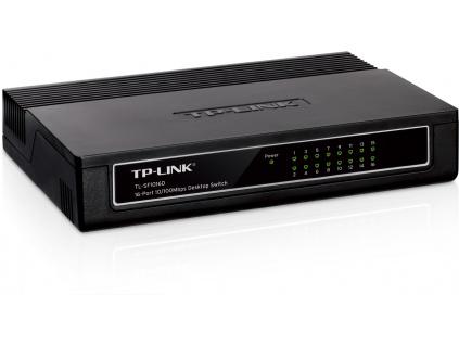 TP-Link TL-SF1016D 16x 10/100Mbps Desktop Switch, TL-SF1016D