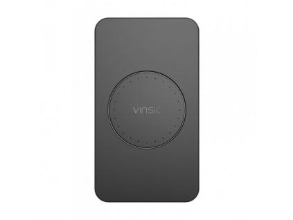 Vinsic 3 Coils QI Bezdrátová nabíječka Black