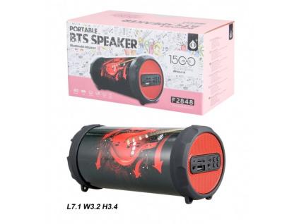 Bluetooth Port.Speaker PLUS Mini F2848, Red Guitar, 2400172
