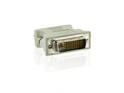 4World Adaptér DVI-A 24M - VGA 15F Gray