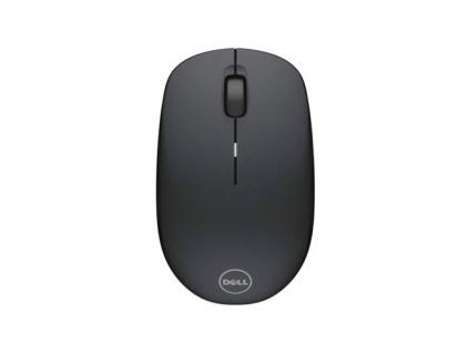 Dell myš, bezdrátová WM126 k notebooku, černá, 570-AAMH