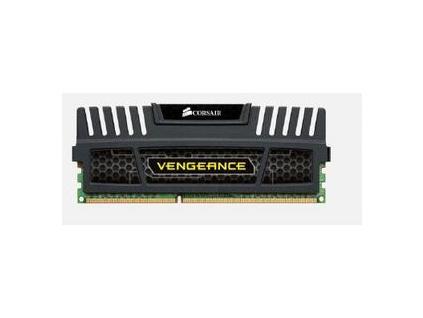 CORSAIR 4GB DDR3 1600MHz VENGEANCE BLACK PC3-12800 CL9-9-9-24 (s chladičem Vengeance černý, pro INTEL i7/i5/i3 a pro AMD, 1.5V), CMZ4GX3M1A1600C9